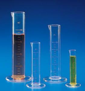 Instrumentos para medir volumen.