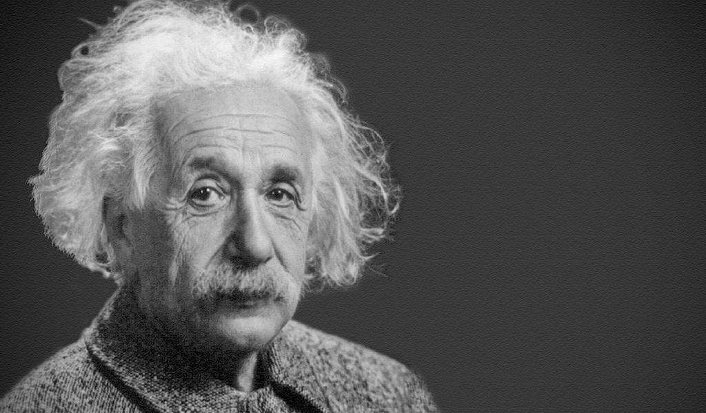 Por ejemplo, los postulados de la teoría de la relatividad de Einstein.