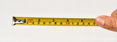Medir es comparar una unidad patrón con aquello que se desea cuantificar.