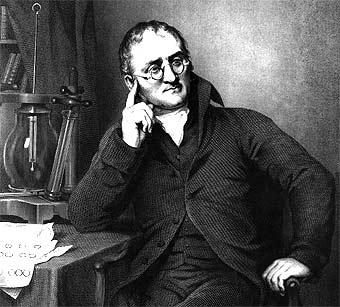 John Dalton, retomando las ideas de los atomistas griegos propuso la primera teoría atómica dentro del marco de la química moderna.